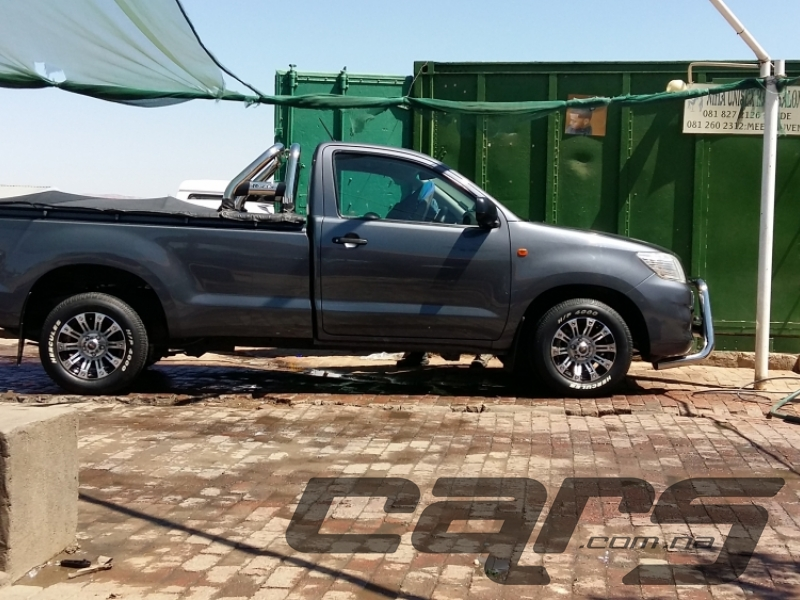 2013 TOYOTA Hilux 2.0 VVT-i S PU MY08 - Single Cab Pick-Up