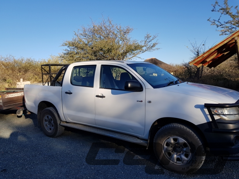 2011 TOYOTA Hilux 2.5 SRX D-4D D-Cab 4x4 Dsl PU MY05 - Double Cab Pick-Up