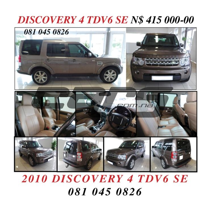2010 Land Rover DISCOVERY 4 TDV6 SE 3l