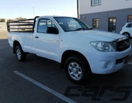 2010 TOYOTA Hilux 2.5 SRX D-4D 4x4 Dsl PU MY08 - Single Cab Pick-Up