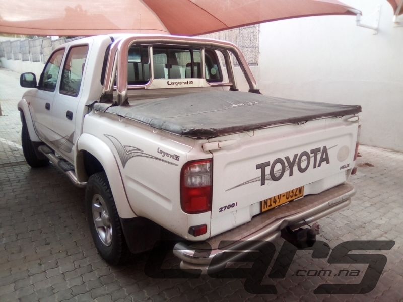 2004 TOYOTA Hilux Legend35 2700i D-Cab LWB RB PU - Double Cab Pick-Up